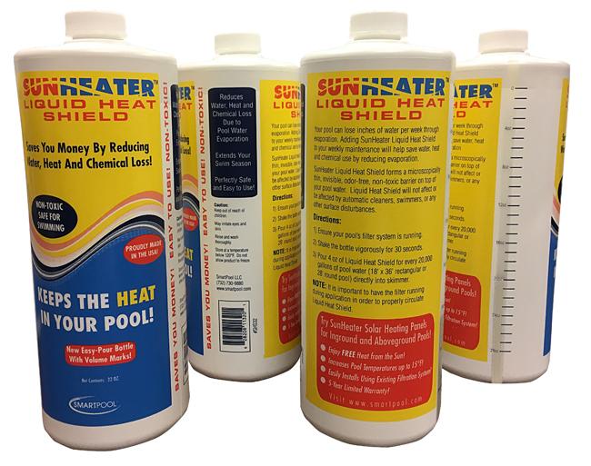 Sunheater liquid heat shield