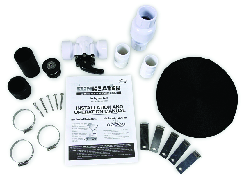 Sunheater materials and installation guide