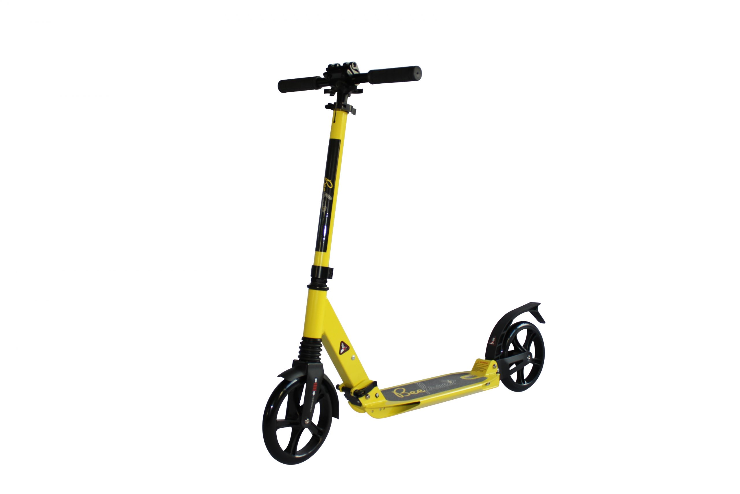 BeeFree yellow scooter