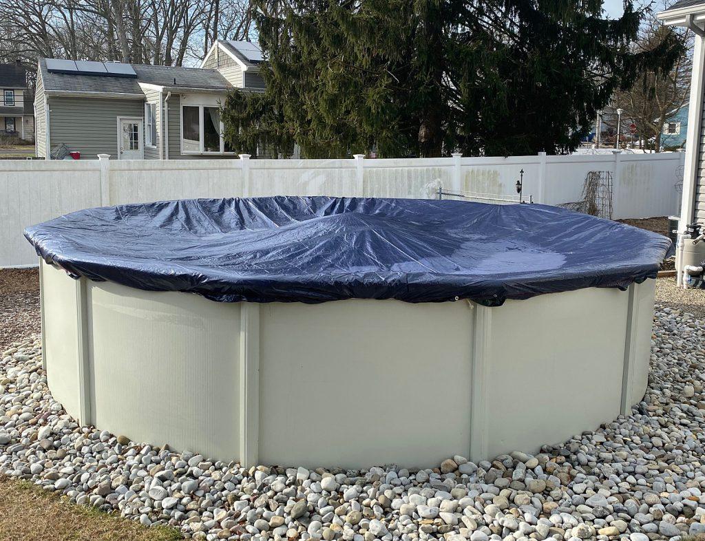 Winterblock aboveground pool cover