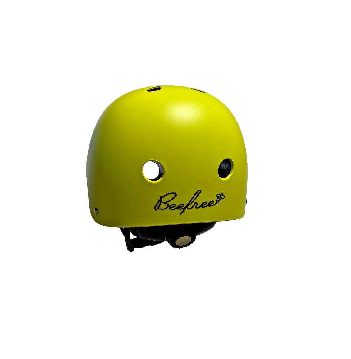Bee Free Yellow High Visibility Helmet